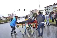 Çorum'da Zincirleme Trafik Kazası Açıklaması 4 Yaralı