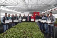 ÖRGÜN EĞİTİM - Gölbaşı Belediyesinde Çalışan 15 İşçiye 'Ustalık-Kalfalık-İşyeri Açma' Belgesi