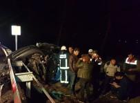BOLAT - İkisi De Hurdaya Döndü Açıklaması 1 Ölü, 2 Yaralı