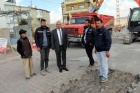 KANALİZASYON ÇALIŞMASI - İncesu Belediye Başkanı Zekeriya Karayol Hizmet Kalitesini Artırmak İçin Gece Gündüz Çalışıyor