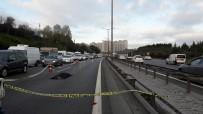 ZİNCİRLEME KAZA - İstanbul'da feci kaza... Üzerinden 3 araç geçti