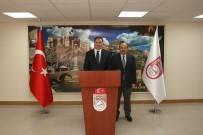 SELÇUK COŞKUN - Kamu Başdenetçisi Şeref Malkoç, Vali İsmail Ustaoğlu'nu Ziyaret Etti