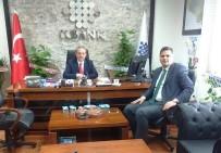 İPEKYOLU - Kaymakam Öztürk'ten İller Bankasına Ziyaret