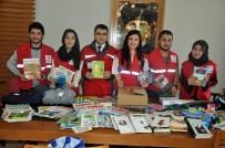 KIRTASİYE MALZEMESİ - Kızılay Üniversitelilerin Toplandığı Yardımları Köy Okullarına Ulaştıracak