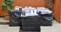 Kovancılar'da 5 Bin 680 Paket Kaçak Sigara Ele Geçirildi