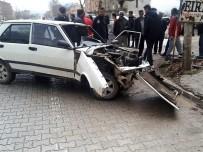 Kovancılar'da Trafik Kazası Açıklaması 1 Ağır Yaralı