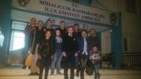 BAĞLAMA - Mihalıççık Halk Eğitim Merkezi Eğitim Ve Kursiyerlerinden Polise Ziyaret