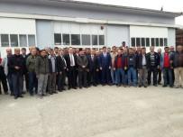 SENDİKA BAŞKANI - Milletvekili Eldemir Ve Başkan Yıldırım İşçilerle Bir Araya Geldi