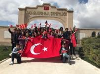 RESMİ TÖREN - Minikler Ankara'da Tarihi Alanları Gezdi, Anıtkabir'i Ziyaret Etti