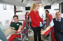 ULUPıNAR - Öğrencilerden Kızılay'a Gönüllü Kan Bağışı