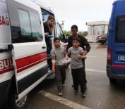 İNLICE - Ortaokul Öğrencileri Zehirlenme Şüphesiyle Hastaneye Kaldırıldı