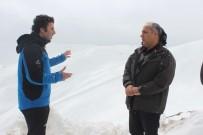 KIŞ OLİMPİYATLARI - Rektör Polat, Kurtik Dağı'nda İncelemelerde Bulundu