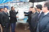 Sivas'ta Çiftçilere Mısır Ve Nohut Tohumu Dağıtıldı