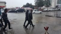 Tatvan'da Yağmur Yağışı
