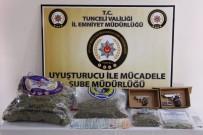 Tunceli'de 44 Kilogram Uyuşturucu Ele Geçirildi