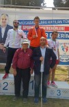 ENGELLİ SPORCU - Yıldırımlı Engelli Sporcudan Türkiye Rekoru