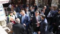 MEHMET TAHMAZOĞLU - AK Parti Genel Sekreteri Gül'den Bakırcılar Esnafına Ziyaret