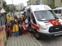 OKUL ÖNCESİ EĞİTİM - Anaokulu Öğrencilerine Ambulans Tanıtıldı