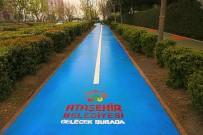 BİSİKLET YOLU - Ataşehir'de Yollar Renklendi