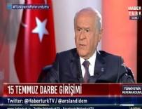 HABERTÜRK - Bahçeli'den bomba FETÖ açıklaması
