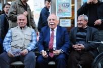 NABI AVCı - Bakan Avcı Esnafı Ve 'Evet' Çadırlarını Ziyaret Etti