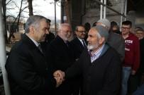 PAZARCI ESNAFI - Başkan Çelik, Hacılar'da Bir Dizi Ziyarette Bulundu