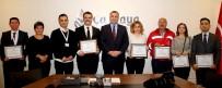 İSTİMLAK - Çankaya Belediyesinde Ayın Personellerine Teşekkür Belgesi Verildi