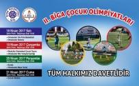 ÇOCUK OYUNLARI - Çocuk Olimpiyatları Meşale Seremonisi İle Başlayacak