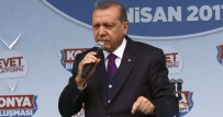 AHMET DAVUTOĞLU - Cumhurbaşkanı Erdoğan'dan AGİT'e Sert Tepki