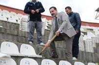 ORDUSPOR - Elazığ'da, Yeni Stadyum İçin İlk Kazma Vuruldu