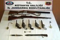 Emet'te Antika Silahlar Ele Geçirildi