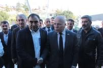BEYİN KANAMASI - Erzurum Belediye Başkanı Mehmet Sekmen'den, İbrahim Erkal'a Ziyaret