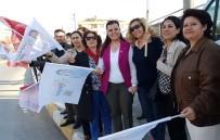BAŞKAN ADAYI - Fatma Kaplan Hürriyet, Referandum Turlarına Devam Ediyor