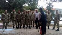 SÖNDÜRME TÜPÜ - Güvenlik Korucularına Yangın Eğitimi Verildi