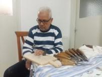 Iraklı Adam Ahşaba Şekil Vererek Geçimini Sağlıyor