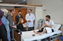 BENNUR KARABURUN - İznik Devlet Hastanesi'nde Tomografi Cihazı Hizmete Girdi