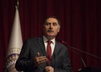 ATATÜRK ÜNIVERSITESI - Kamu Başdenetçisi Şeref Malkoç, Atatürk Üniversitesi'nde 'Geçmişten Günümüze Türkiye'yi Anlattı
