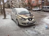 Karaman'da Otomobil Yangını