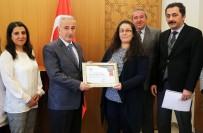 KANSER TARAMASI - Kayseri Halk Sağlığı Müdürlüğü'ne İkincilik Ödülü