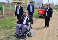 KıBRıS - Kıbrıs Gazisine Akülü Engelli Aracı