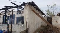 BÜYÜKKARıŞTıRAN - Kırklareli'nde Ev Yangını