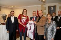 MUSTAFA AKINCI - KKTC Cumhurbaşkanı Akıncı, Eurocup Şampiyonunu Kabul Etti
