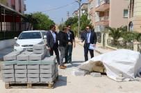 BOSTANCı - Manisa'da Mahalle Yollarında Hummalı Çalışma