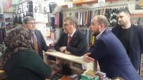 BALCı - Milletvekili Eldemir Ve İl Başkanı Karabıyık Esnafı Ziyaret Ettiler