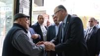 GAZILER - Milletvekili Koçer'den Gaziler Caddesi Esnafına Ziyaret