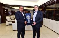DIŞİŞLERİ KOMİSYONU - Milletvekillerinden Başkan Gürkan'a Ziyaret