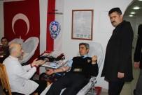 KURULUŞ YILDÖNÜMÜ - Polisler Bu Kez, Kan Vererek Hayat Kurtarıyor