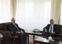 ATATÜRK ÜNIVERSITESI - Rektör Karabulut Atatürk Üniversitesi Rektörü Prof. Dr. Ömer  Çomaklı'yı Ziyaret Etti