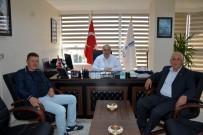 HOŞKÖY - Şarköy Güzelköy Mahalle Muhtarından Genel Müdür Başa'ya Ziyaret