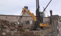 TAKSIM - Taksim Camii'nin İnşa Çalışmaları Devam Ediyor